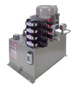 Hydraulic Power Unit for a Wire Feeding Machine