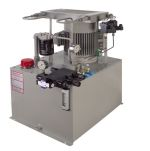 Hydraulic Power Unit for Testing Hot Water Tanks